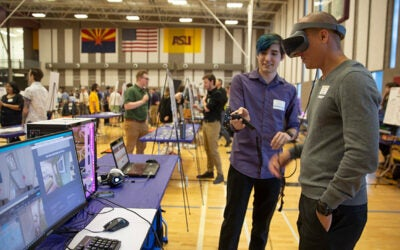 Capstones cultivate high-tech opportunities for students and industry