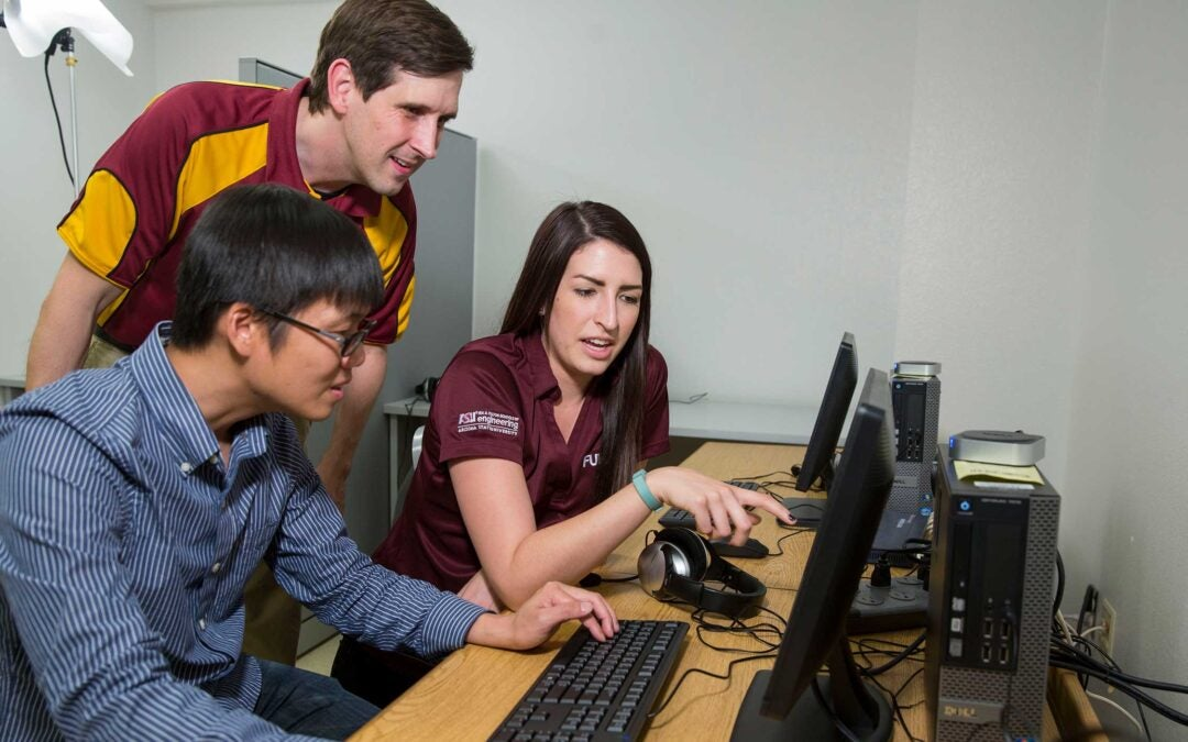 Human systems engineering lab advances online learning research