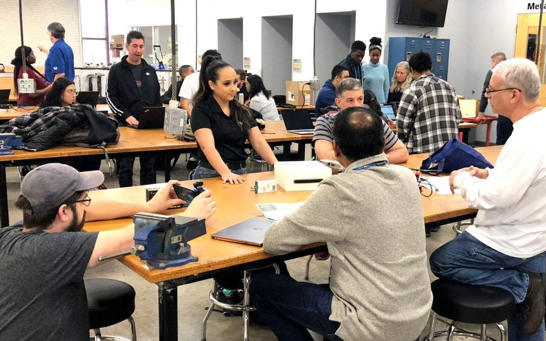 Experiential lab customizes technology for community impact